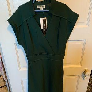 NWT Monteau Forest Green Dress